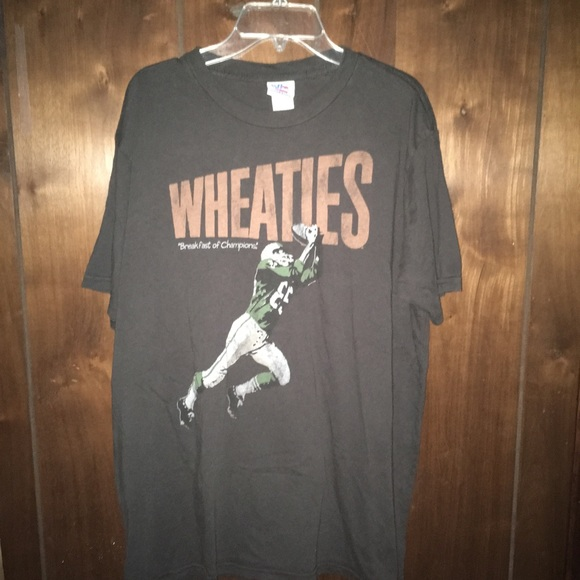 Tshirt L Clothing By Junk Size Food ShirtsWheaties SUjqzMpGLV